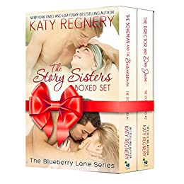 The Story Sisters: (2-book boxed set) (The Blueberry Lane Series) by [Regnery, Katy]
