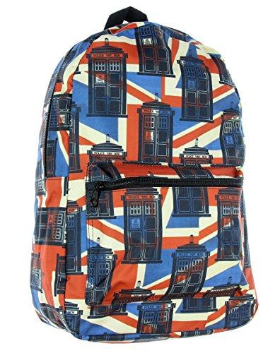 Doctor Who Union Jack Tardis Backpack ()