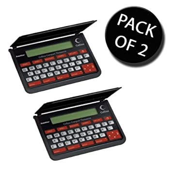 2x Franklin TPQ109 Collins Thesaurus Compact Edition: Amazon