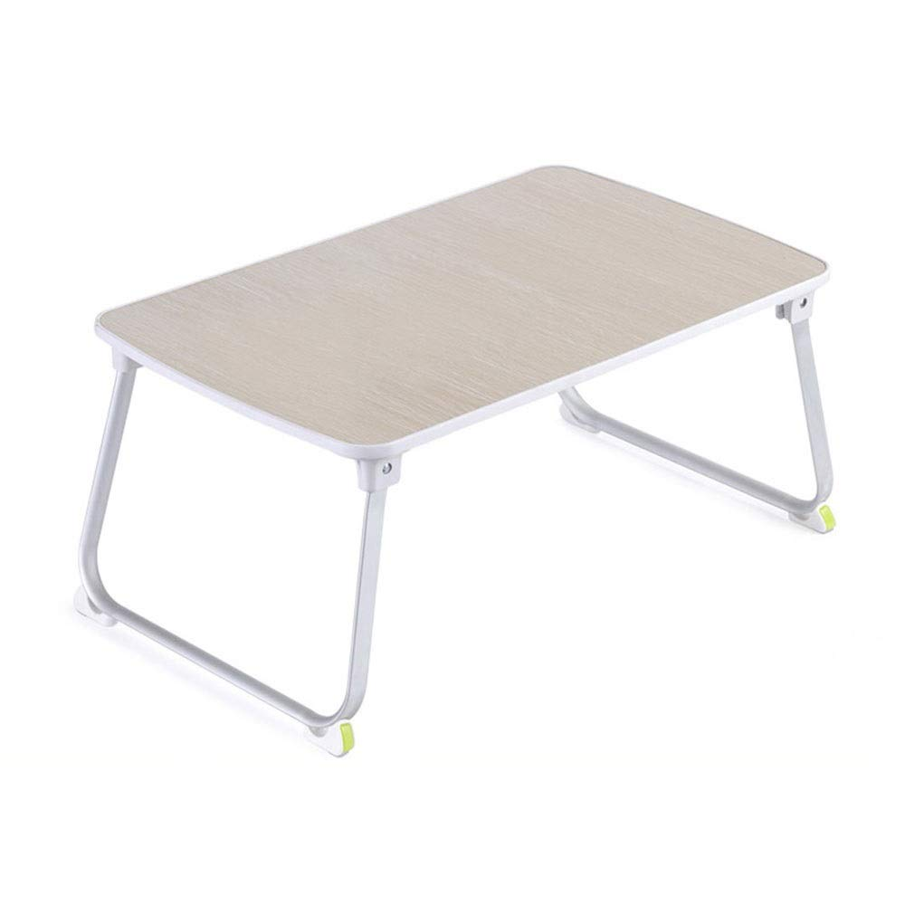 Foldable Laptop Table Portable Study Table Bed Reading   Writing Homework   Dining Multifunction Small Table Computer Desk GW (Size   L70×W50×H32cm)