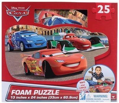disney cars puzzle mat