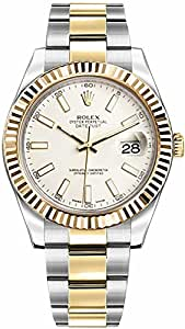 Rolex Datejust II 116333 Ivory Dial 41mm Mens Watch
