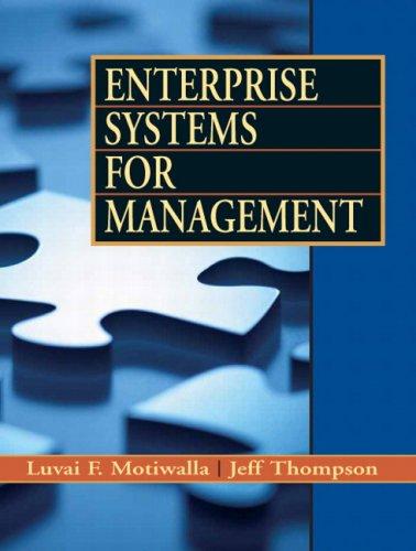 Enterprise Systems for Management