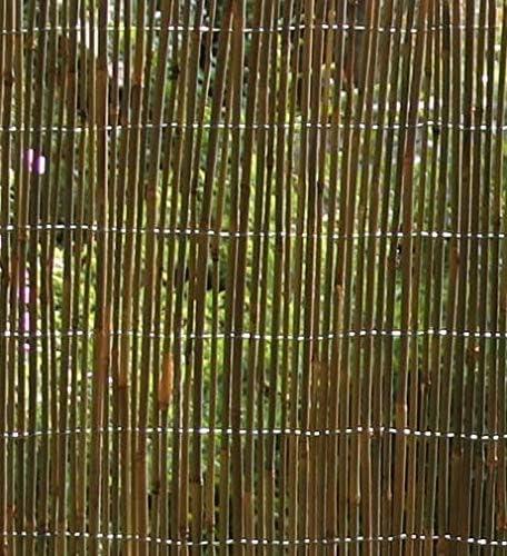 Verdemax Vallado de BambÚ Varillas atadas con Alambre, 1x 3 ...
