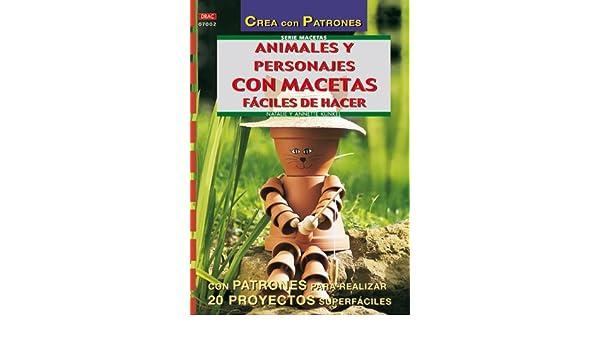 Animales y personajes con macetas fáciles de hacer: Natalie; Kunkel, Annette Kunkel: 9788495873972: Amazon.com: Books