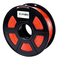 XPERLAND 1.75mm 3D Printer PLA Filament RED, Dimensional Accuracy +/- 0.02mm, 1KG Spool, PLA 1.75 Filament from XPERLAND