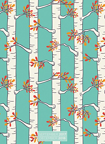 2018 Kraft Birch Trees Monthly Planner