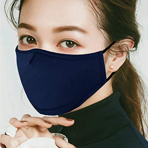 Cotton Mask Washeable Reusable Face Mouth Mask, Anti Dust Face Mask for Men Women - Germ Protective Breath Healthy Safety Warm Windproof Mask