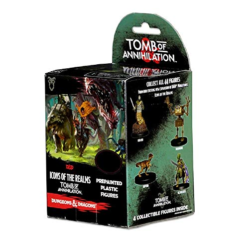 (Dungeons & Dragons: Icons of the Realms: Standard Booster Brick (8 Sealed Boosters) - Tomb of Annihilation )