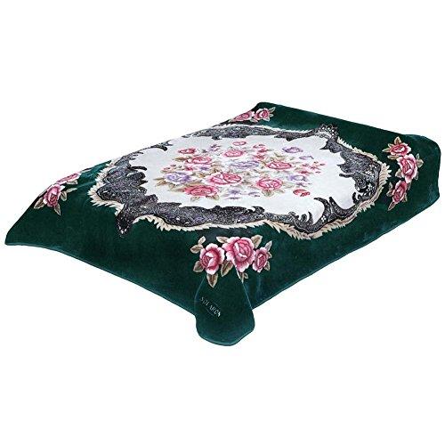 Solaron Queen Flower BM39 Korean Mink Blanket