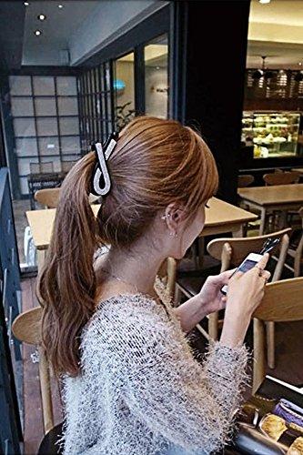 Non-slip Thick Hair Banana Clip Hair Claw Ponytail Hairpin Acrylic Hair Clip