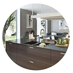 alfombrilla de ratón estilo contemporáneo de la cocina - ronda - 20cm