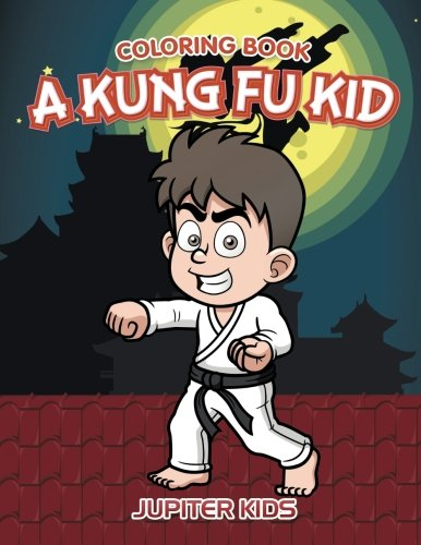 Kung Fu Kid Coloring Book