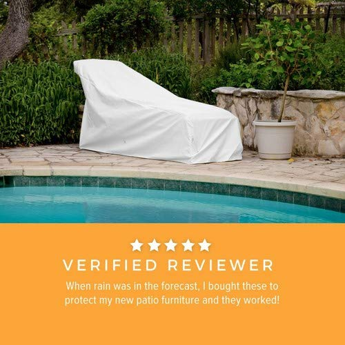 KoverRoos Weathermax 83250 Large Chaise Cover, 82 by 30 by 32-Inch, Charcoal by KOVERROOS (Image #4)