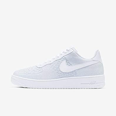 Nike Air Force 1 Flyknit 2.0, Chaussures de Basketball Homme