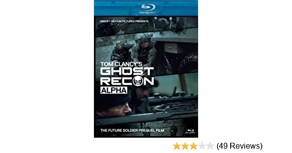 Amazon Com Tom Clancy S Ghost Recon Alpha Bluray Dvd Combo Pack
