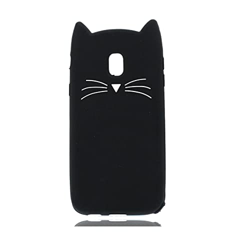 Samsung Galaxy J5 2017 Carcasa, 3D Cartoon gato Cat Funda case para Samsung Galaxy J5