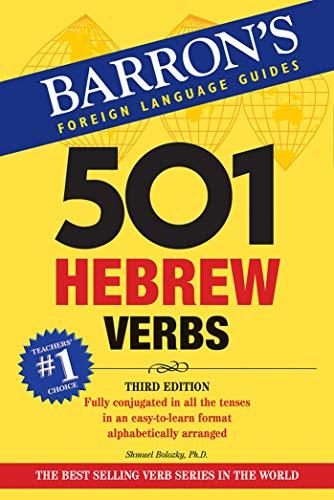 501 Hebrew Verbs (501 Verbs Series)