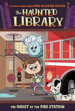 book cover of The Ghost at the Fire Station
