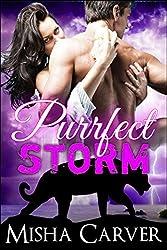 Purrfect Storm: (A Billionaire BBW Shifter Romance) (Purrfect Mates Book 2)