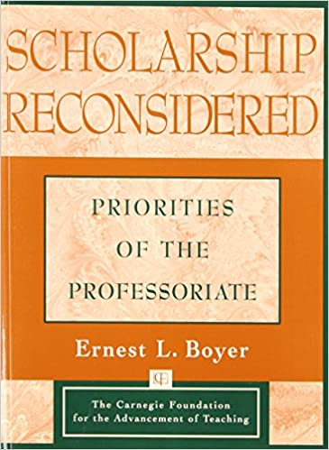 Image result for Boyer scholarship reconsidered