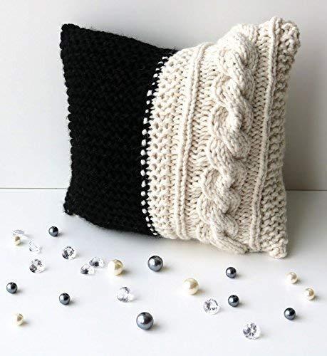 chunky throw pillow online