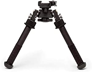 Atlas BT46 NC and LW17 PSR Atlas Bipods: Standard Height No Clamp and Standard Height with ADM 170-S Lever