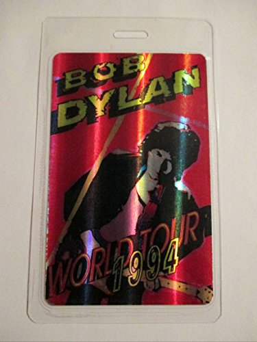 "Bob Dylan World Tour""94 Laser Foil Music Industry Promo Laminated Backstage Pass"