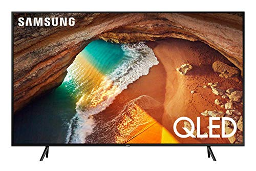 Samsung QN55Q60RAFXZA Flat 55-Inch QLED 4K Q60 Series Ultra HD Smart TV...
