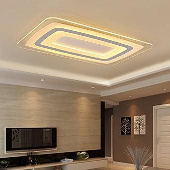 TIANLIANG04 Deckenleuchten Wohnzimmer Lampen, Led Leuchten, Rechteckig  Schlafzimmer Zimmer, Esszimmer, Lampen
