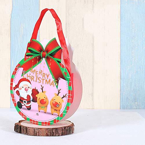 VHVCX Adornos De Navidad Navidad Santa Claus Muñeco De Nieve ...