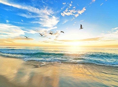 Adult Jigsaw Puzzle Bama Beach Sea Shore Birds Alabama Gulf Coast 500-Pieces