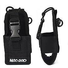 MSC Multi-function Universal Pouch Bag Holster Case for GPS PMR446 Motorola Kenwood Midland Icom Yaesu Baofeng Two Way Radio Transceiver Walkie Talkie (20D)