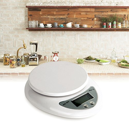 5000g/1g 5kg Food Diet Postal Kitchen Digital Scale scales balance weight weighting LED electronic - 1