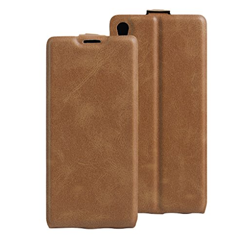 Funda SONY C6 Ultra,Manyip Caja del teléfono del cuero,Protector de Pantalla de Slim Case Estilo Billetera con Ranuras para Tarjetas, Soporte Plegable, Cierre Magnético B