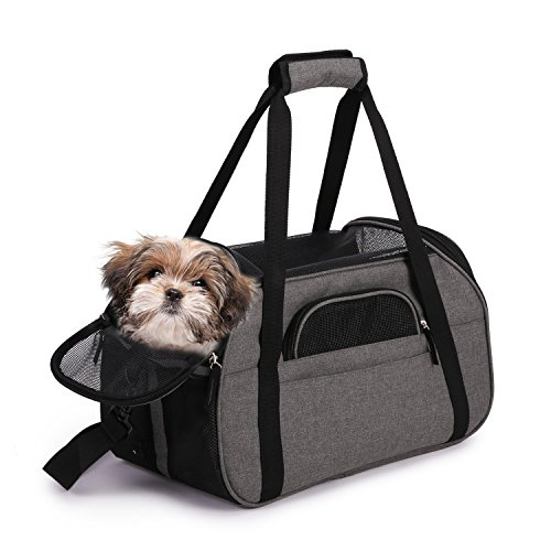 Pet Tote Dog Carrier (Jespet Soft Sided Pet Carrier Comfort 19
