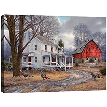 Cortesi Home The Way It Used to Be by Chuck Pinson, Giclee Canvas Wall Art, 26