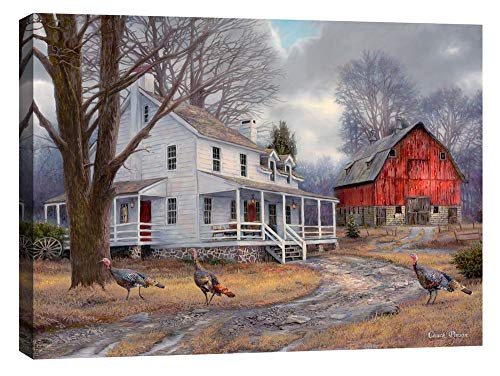 Cortesi Home The Way It Used to Be by Chuck Pinson, Giclee Canvas Wall Art, 26' x 34'