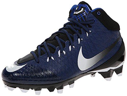 Nike Mens CJ Strike 3 Football Cleat, Blau, 45.5 D(M) EU/10.5 D(M) UK