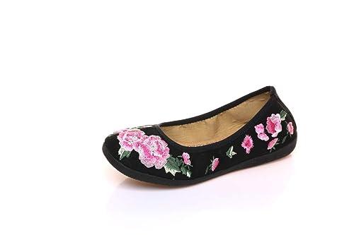 Bordado Zapatos/Alpargatas/ Merceditas/Zapatos Bordados para Zapatos de Mujer: Amazon.es: Zapatos y complementos