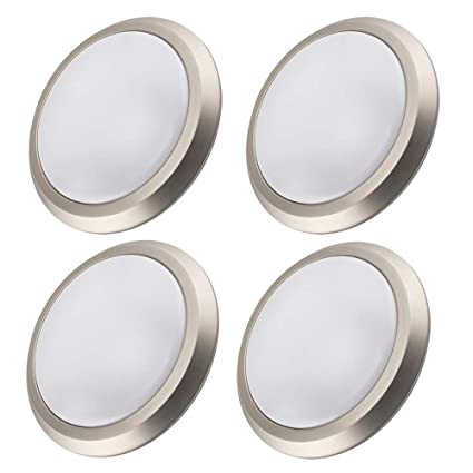 LED Light Fixtures Ceiling Flush Mount Ceiling Light Fixture Dimmable for Bedroom,Hallway,12