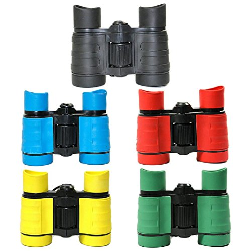 Josie & Connie Green 4×30 High-definition Mini Cute Binoculars Telescope Pretend Play-Best Gift For Your Kids
