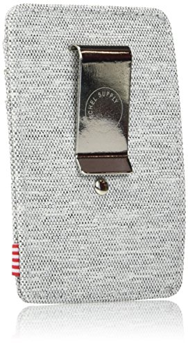 Crosshatch Herschel Grey Wallet Men's Herschel Supply Light Supply Co q4w558x0R