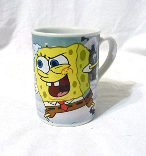 2007 Ceramic Mug - 2007 VIACOM Patrick and Spongebob Squarepants 10oz Ceramic Mug