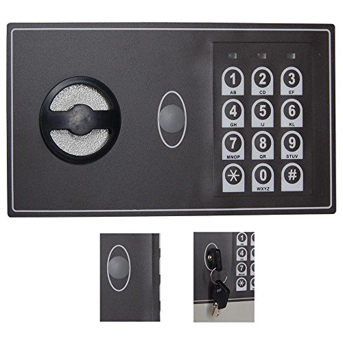 15x9x21 inch electronic digital keyless lock 245 key. Black Bedroom Furniture Sets. Home Design Ideas