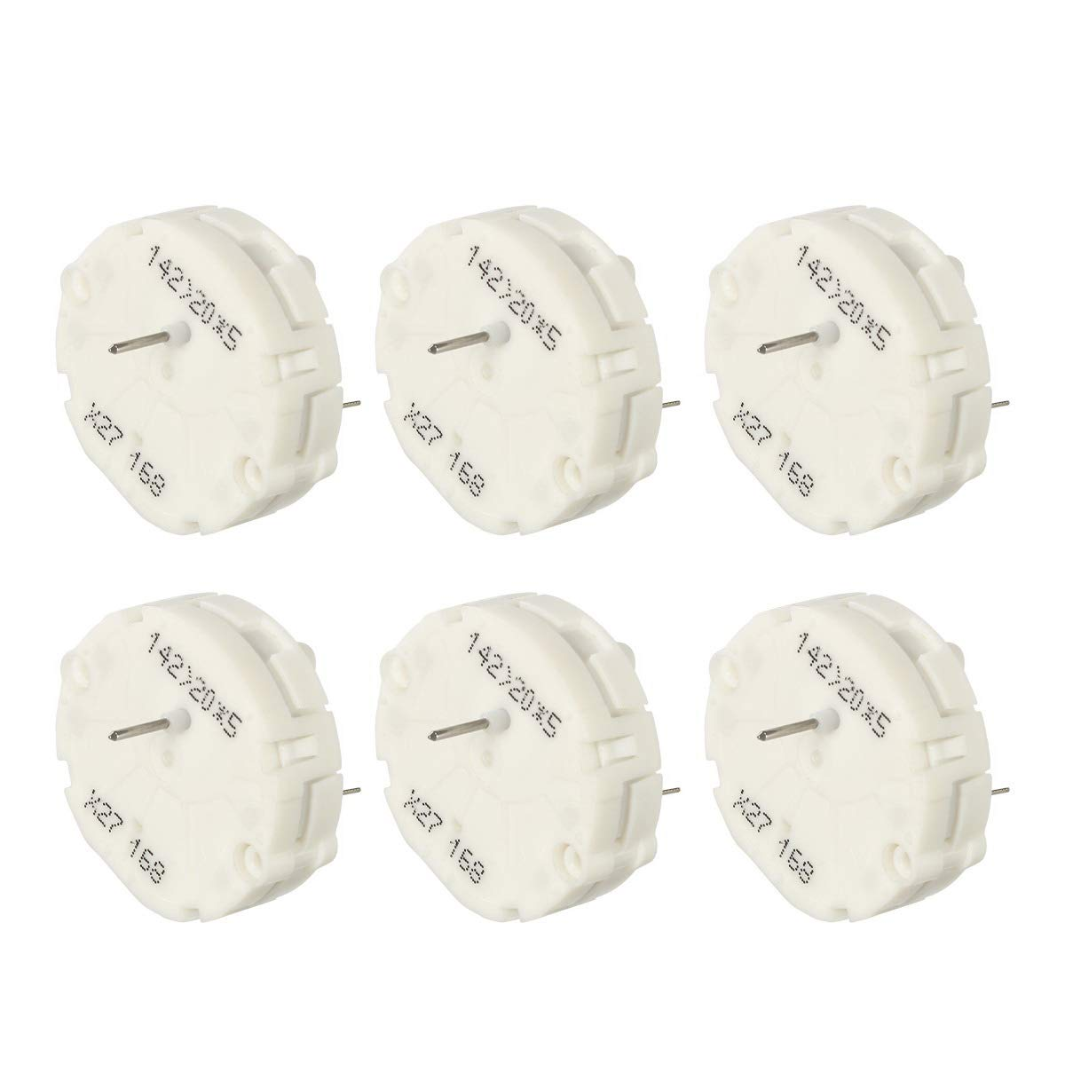 Partsam x27.168 27 168 Instrument Cluster Gauge Stepper Motor Repair Kit fit for 2003-2006 GM Chevy Buick GMC Pontiac Silverados Tahoes -6Pcs X27168