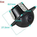 CCD Newest Car Rear View Camera Front View Double To Switch Upgrade Section Parking Camera with 360 Degree Rotation