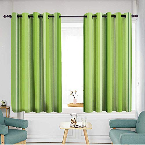 home1love Thermal Insulated Blackout Curtains Energy Efficient, Room Darkening W 63