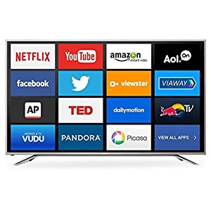 "55"" TV 4K Smart 2160p UHD Sharp Aquos Apps 3"
