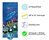 27-Foot Round Liner | 48-to-52-Inch Wall Height